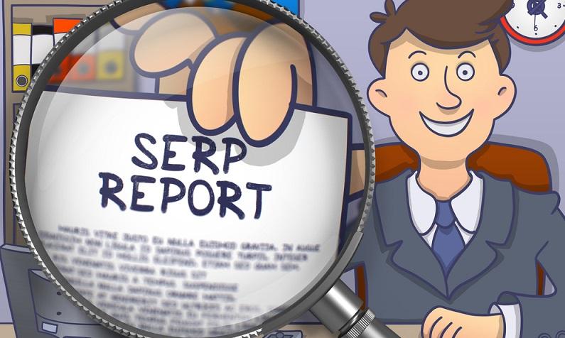 Die Search Engine Result Pages sind Seiten auf Suchmaschinen, die relevante Suchergebnisse auflisten. (#05)