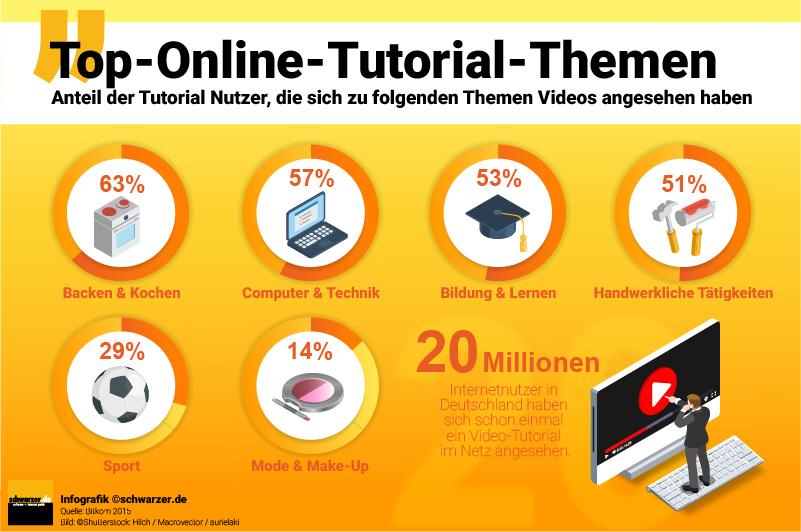Infografik: Ein Beispiel für eine optimale Infografik, die Bild, Daten und Fakten in sich vereint findet man auf dem informativen Video-Marketing-Blog.